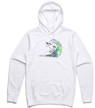 Load image into Gallery viewer, Surfing Unicorn Hoodie