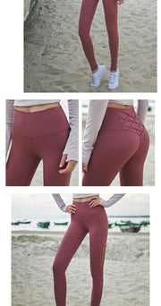 High Waist Tummy Control Tights Leggins - megawise