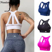 Women Sports Bra Tops High Impact for Fitness - megawise
