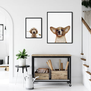 Custom Dog Art Portrait - Unframed Print
