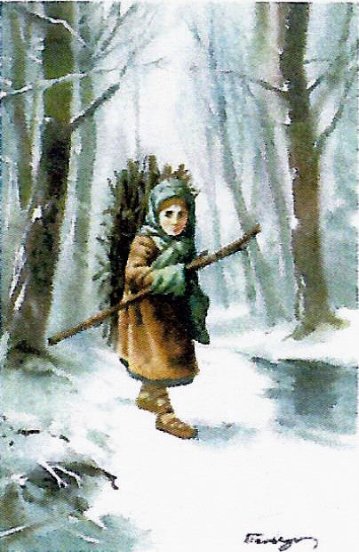 A Child Gathers Wood - Josyp Terelya -