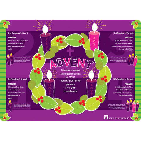 Advent Faith Mat - Catholic Shoppe USA