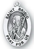 Sterling Silver Patron Saint Medals - Female Saints - Catholic Shoppe USA - 12