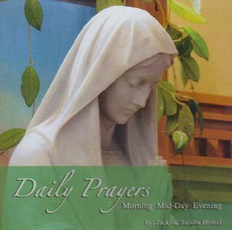 Daily Prayers CD - Morning Mid-Day Evening