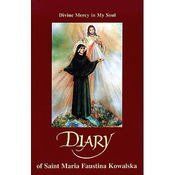 Diary of Saint Maria Faustina Kowalska - Divine Mercy in My Soul - Catholic Shoppe USA - 1
