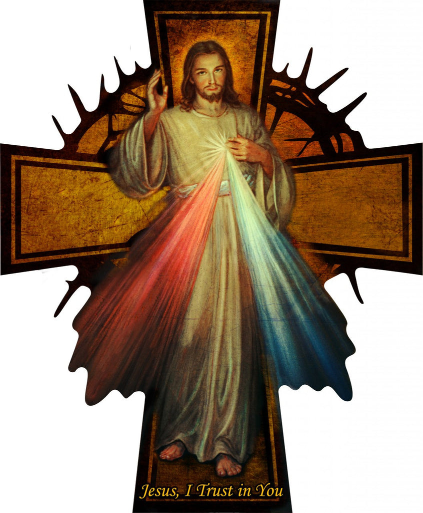 Divine Mercy Cross - Catholic Shoppe USA