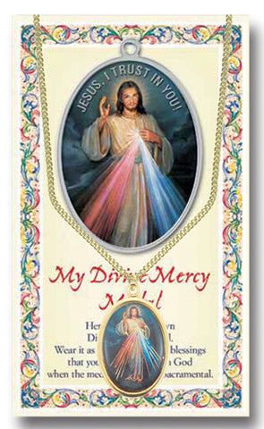 Divine Mercy Medal - Catholic Shoppe USA