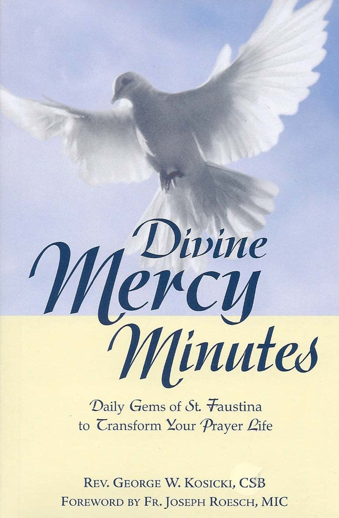Divine Mercy Minutes - Daily Gems of St. Faustina to Transform Your Prayer Life - Catholic Shoppe USA