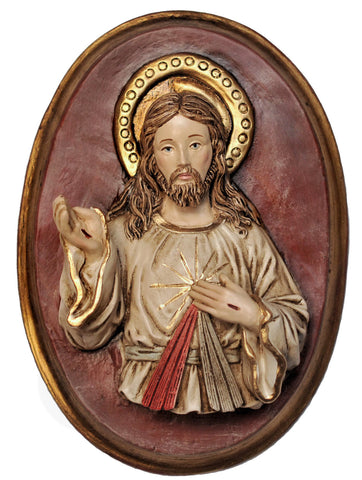Divine Mercy Plaque - Liscano - Catholic Shoppe USA