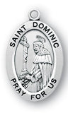 Sterling Silver Patron Saint Medals - Male Saints - Catholic Shoppe USA - 8