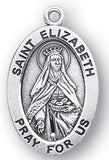Sterling Silver Patron Saint Medals - Female Saints - Catholic Shoppe USA - 22