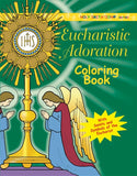 Eucharistic Adoration Coloring Book