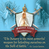 Fatima 100th Anniversary Commemorative Warrior's Rosary
