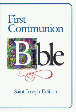 First Communion Bible - Saint Joseph Edition - Boy - Catholic Shoppe USA