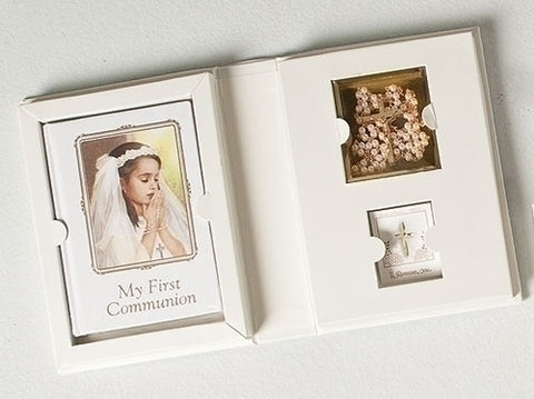 First Communion Girls 4 pc Set - Catholic Shoppe USA