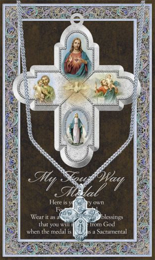 Four Way Medal - Catholic Shoppe USA