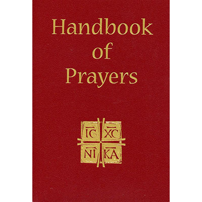 Handbook of Prayers - Catholic Shoppe USA