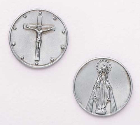 Holy Rosary Pocket Token - Catholic Shoppe USA