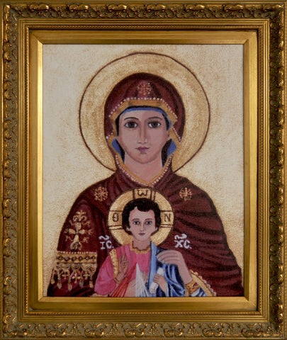 Icon of the Most Philanthropic Mother of Christ Jesus - Catholic Shoppe USA