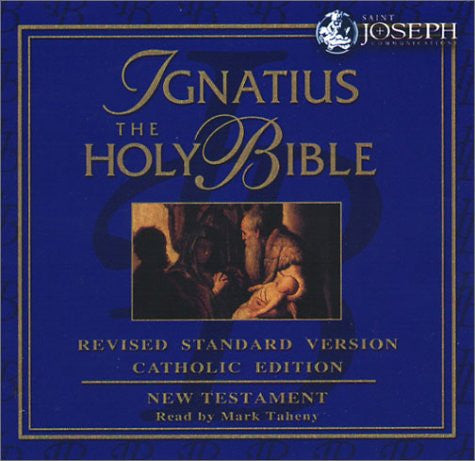 Ignatius Holy Bible - Audio - Catholic Shoppe USA