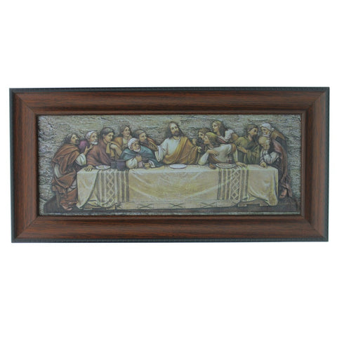 Last Supper Plaque - Catholic Shoppe USA
