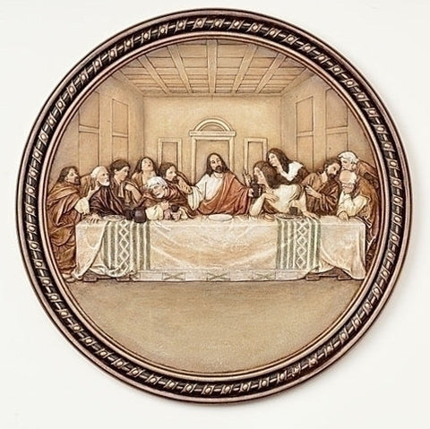 Last Supper Plate - Catholic Shoppe USA