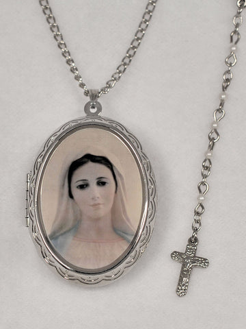 Our Lady's Locket and Rosary