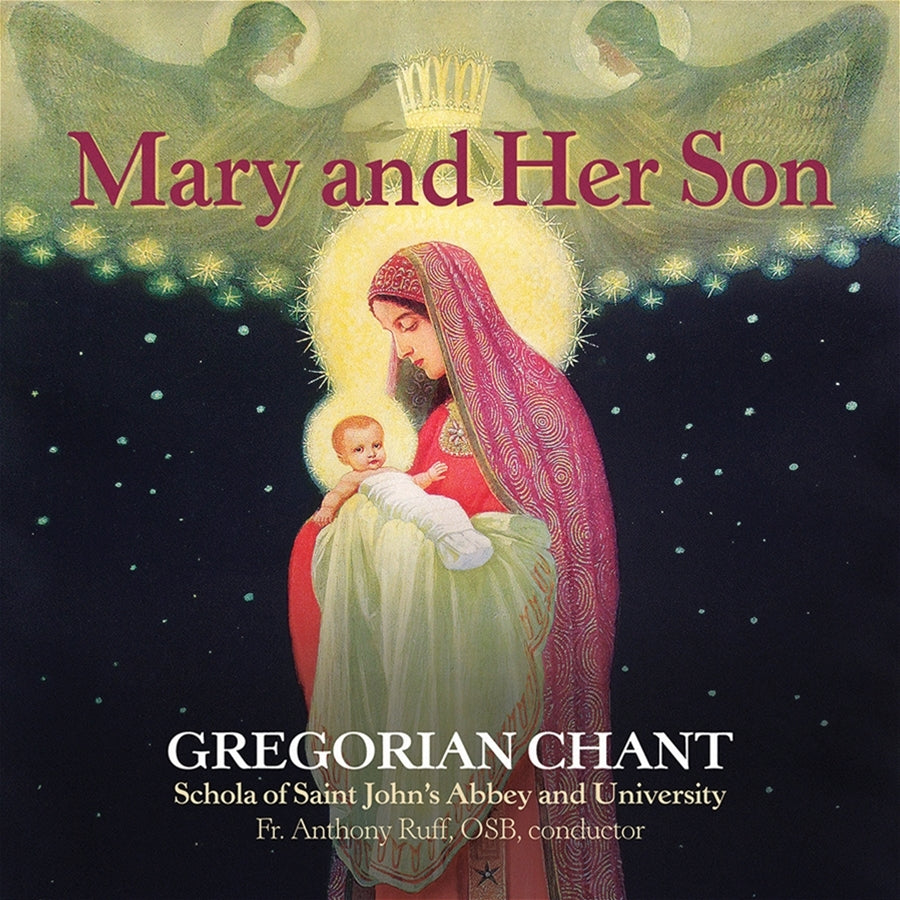 Mary and Her Son - Gregorian Chant CD