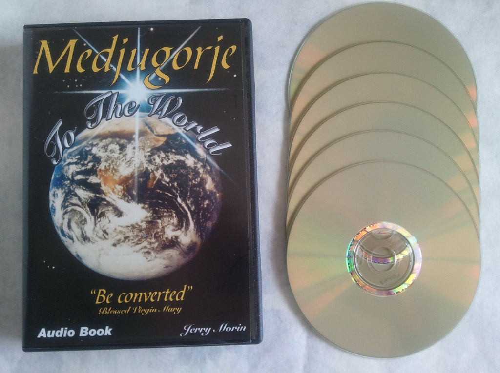 "Medjugorje to the World ""Be Converted"" - Audio Book - Catholic Shoppe USA"