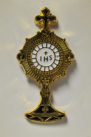 Monstrance Pin - Catholic Shoppe USA