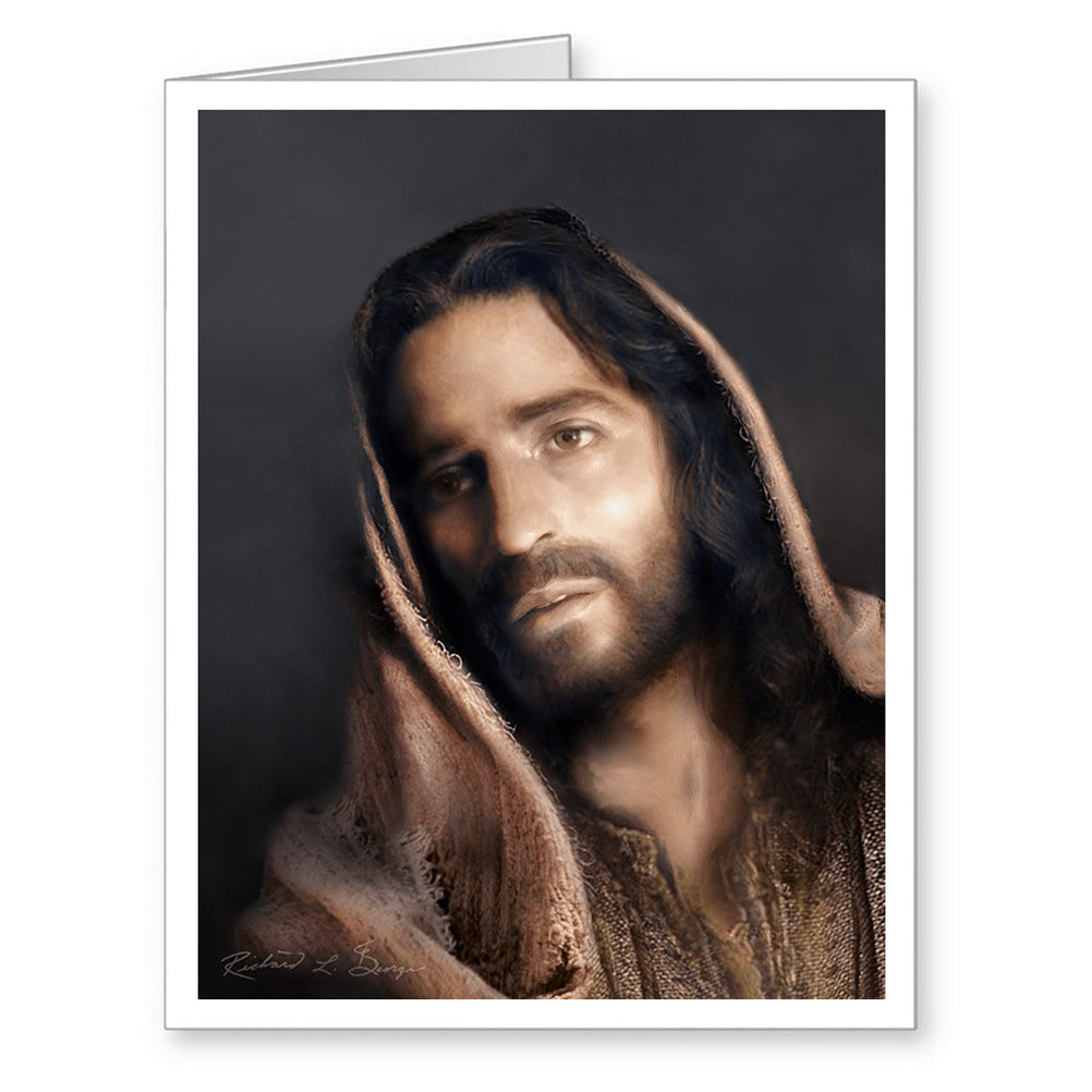 Jesus and Our Lady of Grace Note Cards