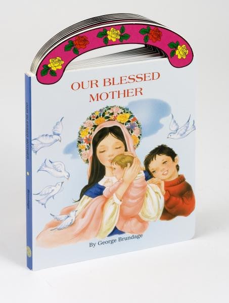 St. Joseph Carry-Me-Along Board Book - Our Blessed Mother - Catholic Shoppe USA - 1