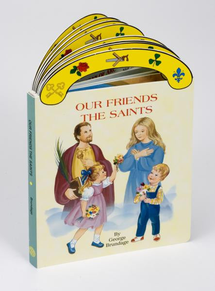 St. Joseph Carry-Me-Along Board Book - Our Friends the Saints - Catholic Shoppe USA - 1