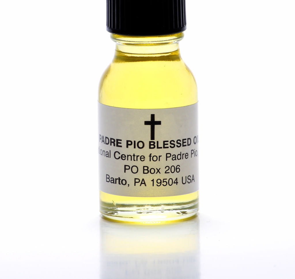 Padre Pio Blessed Holy Oil