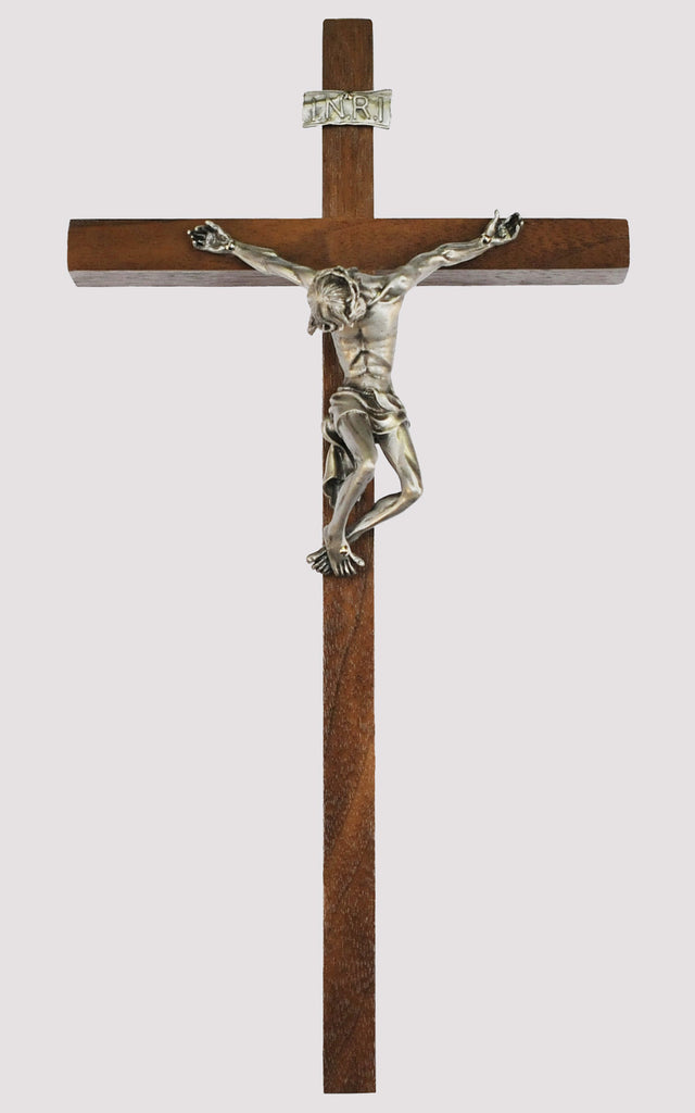 Pained Jesus Crucifix
