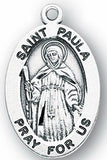 Sterling Silver Patron Saint Medals - Female Saints - Catholic Shoppe USA - 43