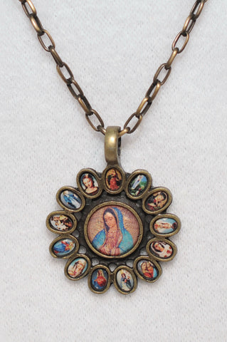 Pendant of Our Lady of Guadalupe - Catholic Shoppe USA