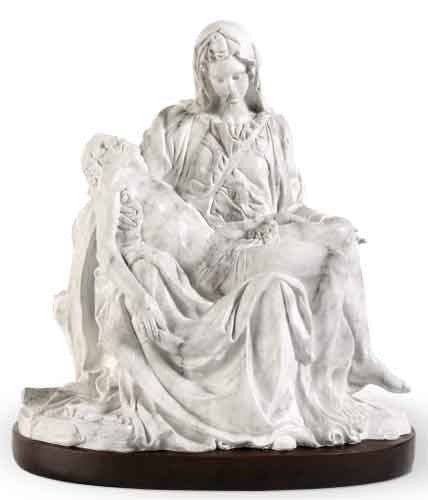 Pieta - White - Catholic Shoppe USA