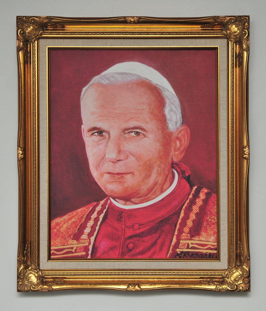 Pope John Paul II Canvas - Catholic Shoppe USA