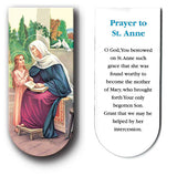 magnetic bookmark Prayer to St Anne