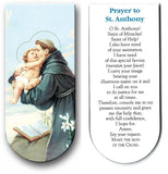 magnetic bookmark Prayer to St Anthony