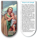 magnetic bookmark Prayer to St Joseph