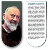 magnetic bookmark Prayer to St Pio of Pietrelcina