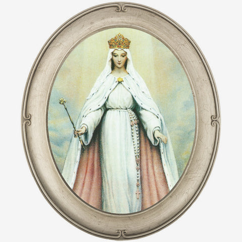 Queenship of Mary Framed Print