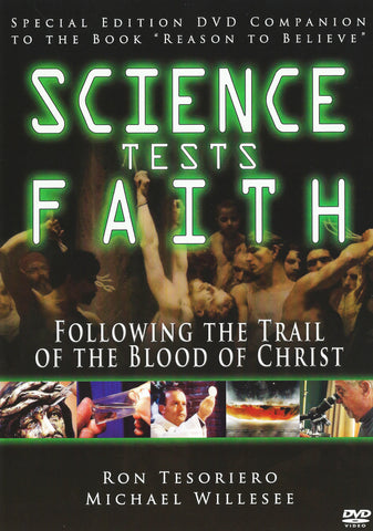 Science Tests Faith - Following the Trail of the Blood of Christ - Catholic Shoppe USA