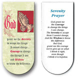 magnetic bookmark Serenity Prayer