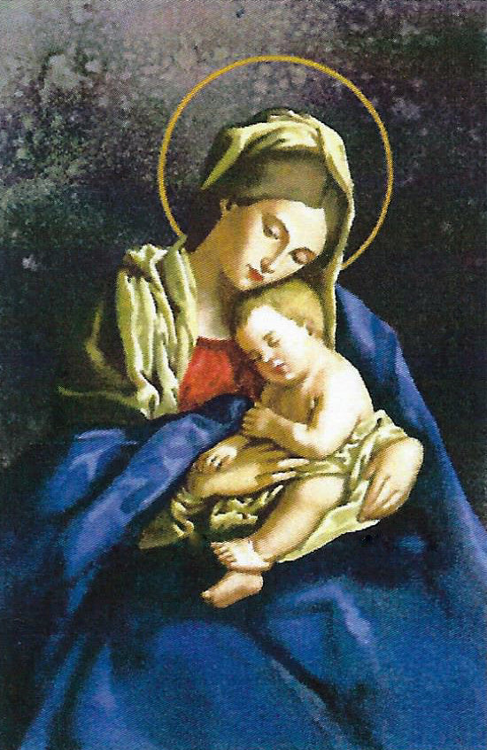 Sleeping Madonna and Child - Josyp Terelya - Catholic Shoppe USA