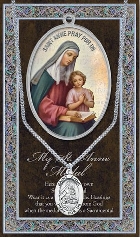 St. Anne Medal - Catholic Shoppe USA