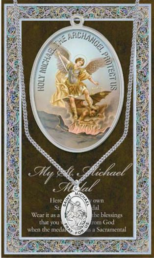 St. Michael the Archangel Medal - Catholic Shoppe USA