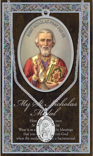 St. Nicholas Medal - Catholic Shoppe USA